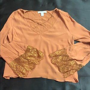 Midriff blouse